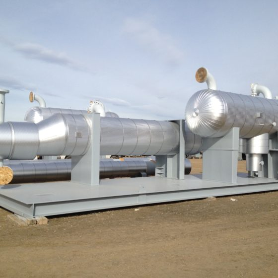 Cryo-Plant Skid Insulated Vessels | ATI Insulation, Inc | CO, WY, TX