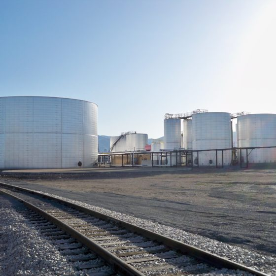 Insulated Tanks at Asphalt Terminal | ATI Insulation, Inc | CO, TX, WY