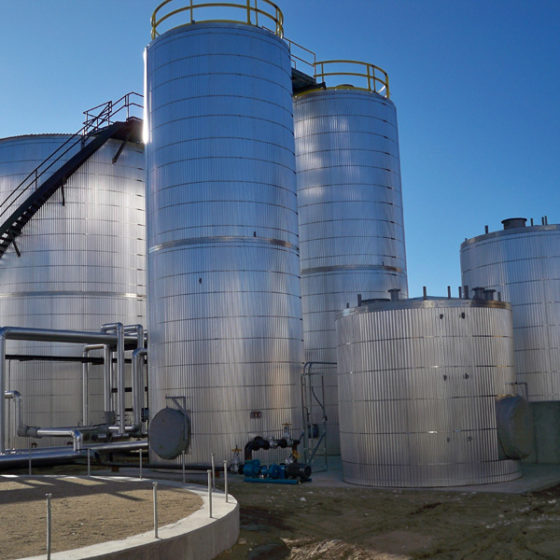 Large insulated storage tanks | ATI Insulation, Inc | CO, WY, TX